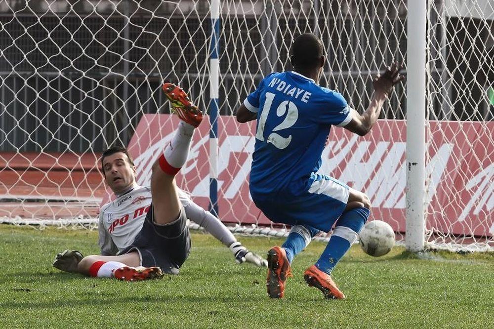«Καθάρισε» τον Ολυμπιακό Βόλου με Εντιαγέ, 1-0 η Καβάλα
