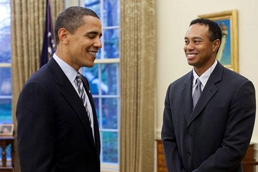 Γκολφ: Κόντρα Γουντς - Ομπάμα