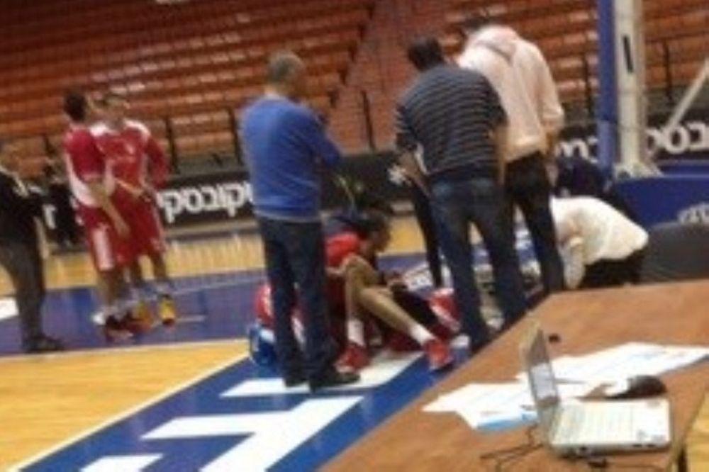 Ισραήλ: Τρομακτικός τραυματισμός του Γκάρι Τζόνσον (video)