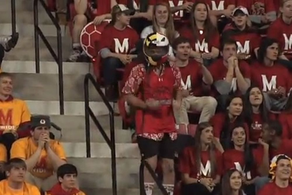Maryland: Όλο το γήπεδο στο... πόδι για Harlem Shake (video)