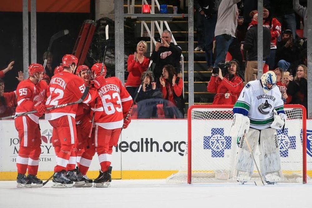 NHL: Νέο ξέσπασμα των Ρεντ Ουίνγκς