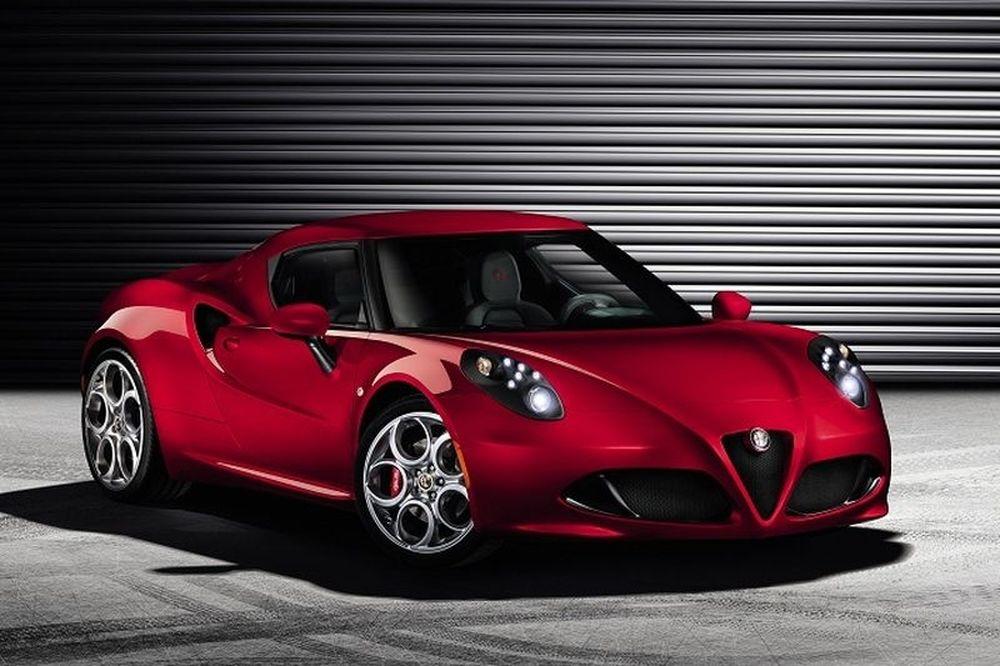 Παγκόσμια πρεμιέρα Alfa Romeo 4C