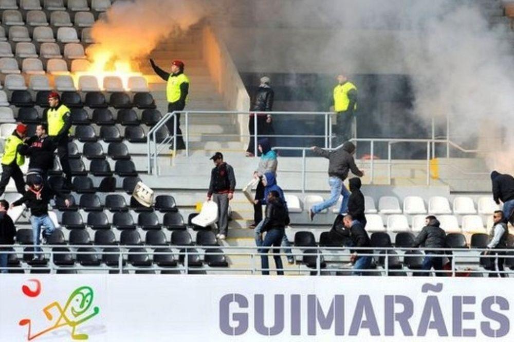 Σοβαρά επεισόδια σε αγώνα νέων στην Πορτογαλία (photos+video)