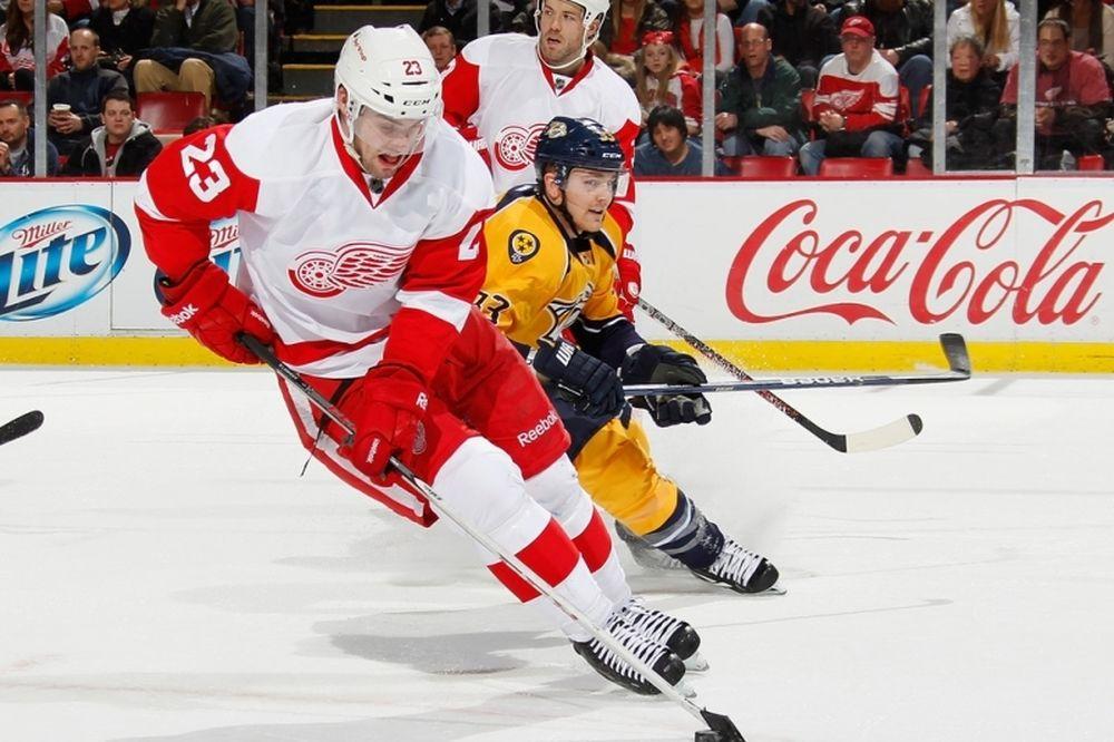 NHL: «Έδεσαν» Lashoff οι Ρεντ Ουινγκς
