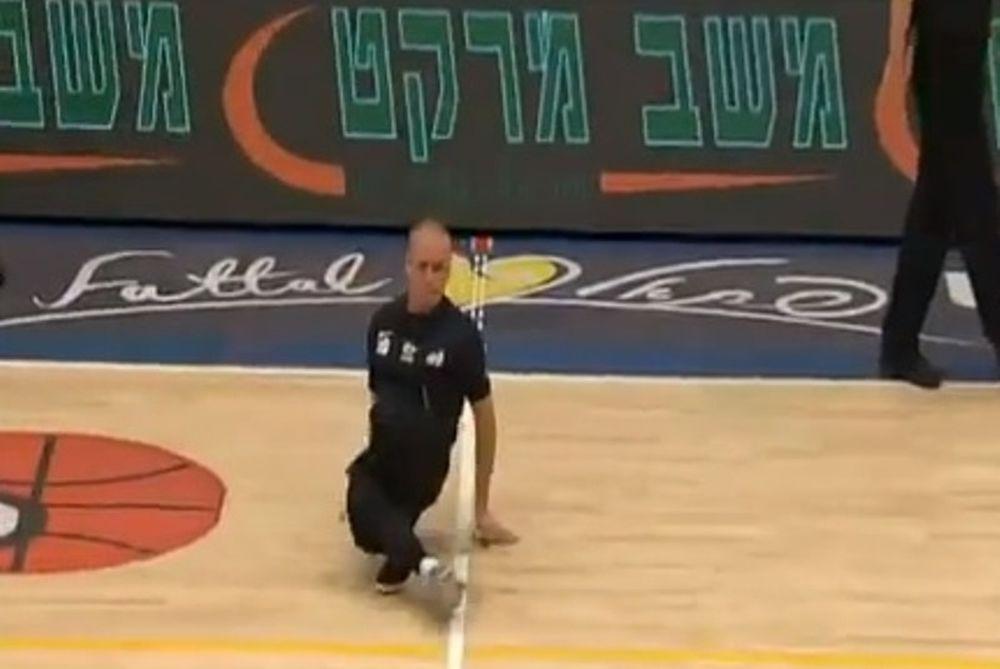 Ισραήλ: Διαιτητής χορεύει break dance! (video)