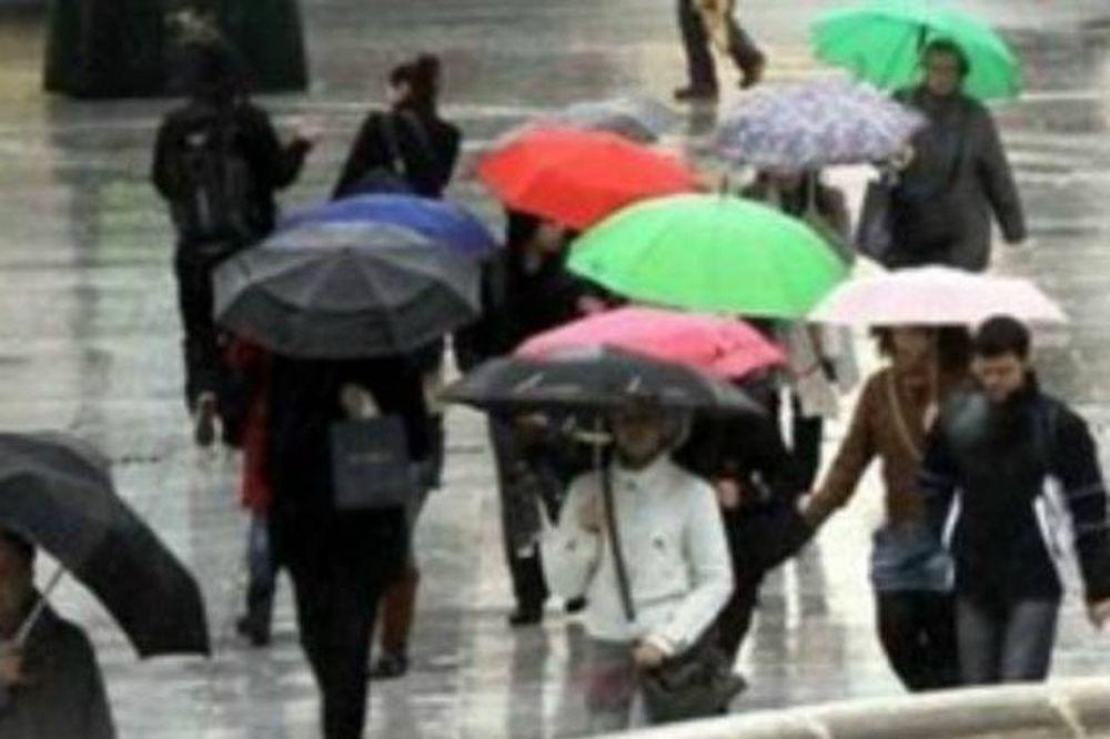Χαλάει ο καιρός: Βροχές, καταιγίδες και πτώση της θερμοκρασίας
