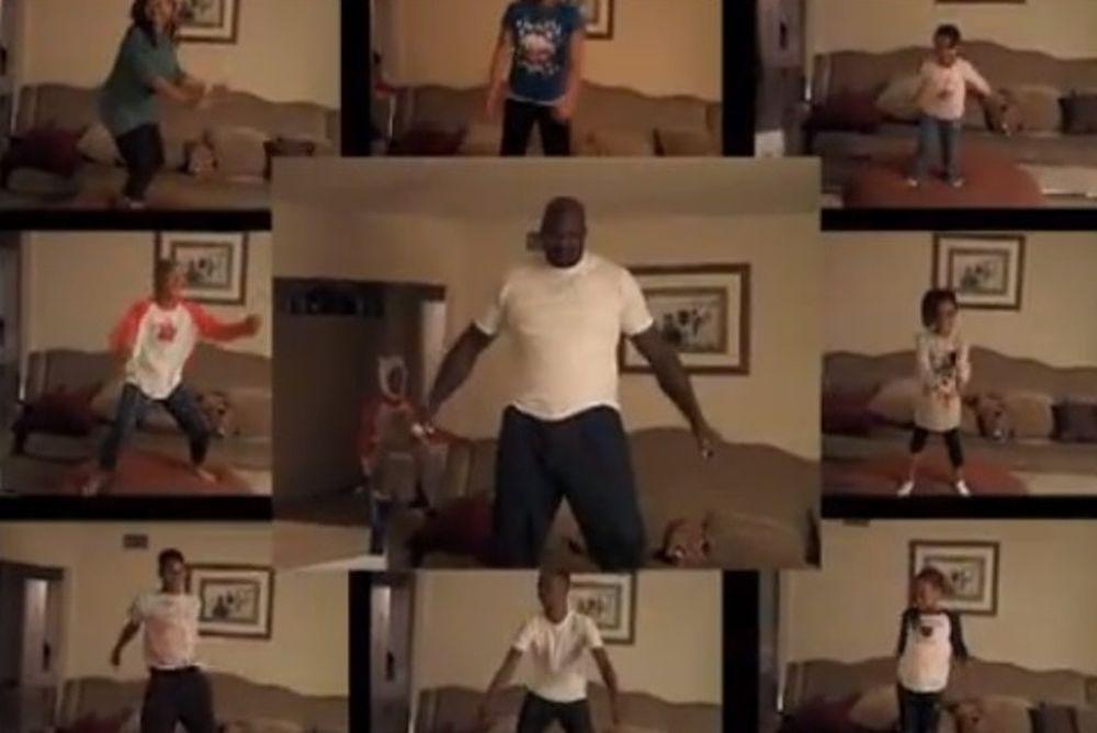 Το οικογενειακό... Harlem Shake από τον Σακίλ Ο' Νιλ! (video)