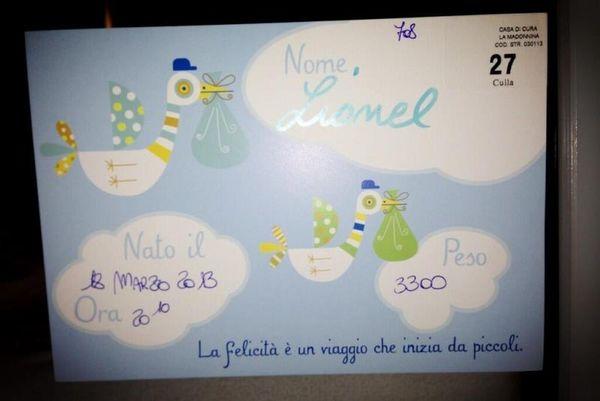 Ίντερ: Ονόμασε Λιονέλ (Μέσι) τον γιο του ο Κασάνο!