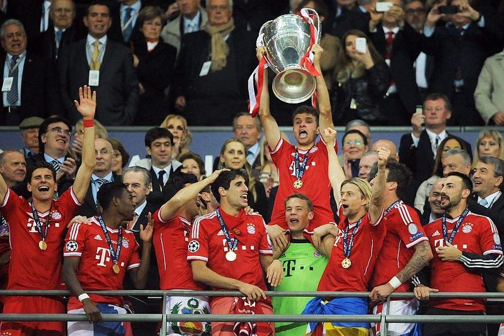 Champions League: Έτσι το σήκωσε η Μπάγερν (photos+video)