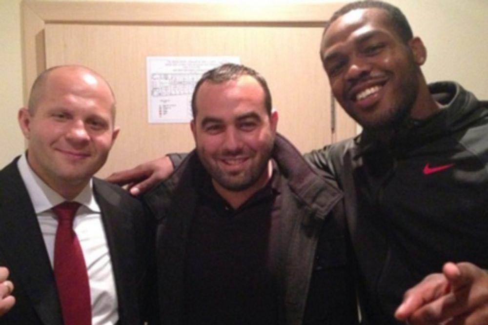 UFC: Συνάντηση Jon Jones με… Fedor Emelianenko