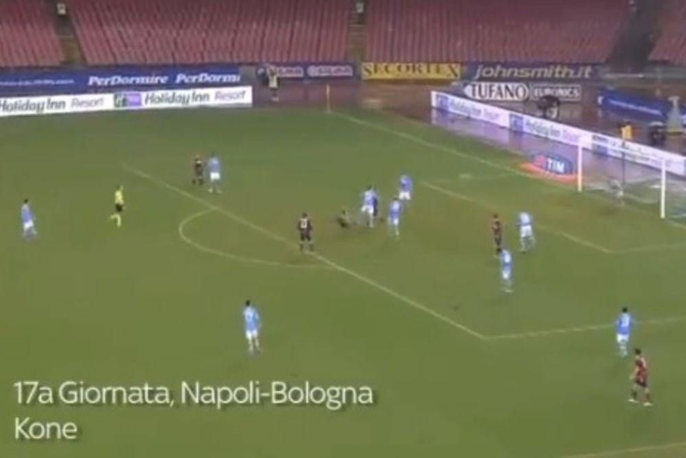 Μπολόνια: Στο Top 10 των γκολ της Σέριε Α ο Κονέ (video)