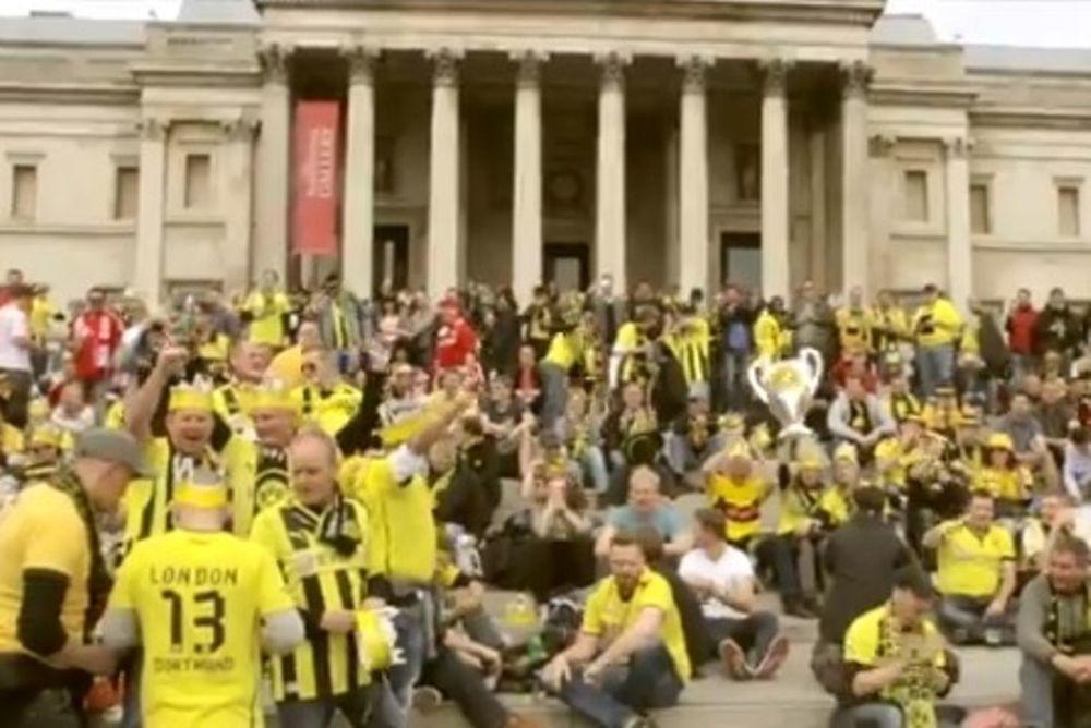 Μπορούσια Ντόρτμουντ: Το αφιέρωμα στους οπαδούς (video)