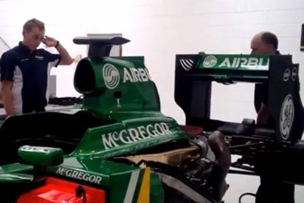 Κάτερχαμ: Ακούστε τη μηχανή του μονοθεσίου της F1 (video)