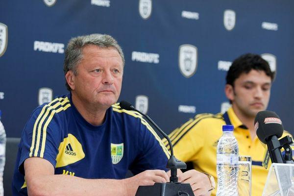 Μάρκεβιτς: «Θέλουμε ισοπαλία με γκολ»