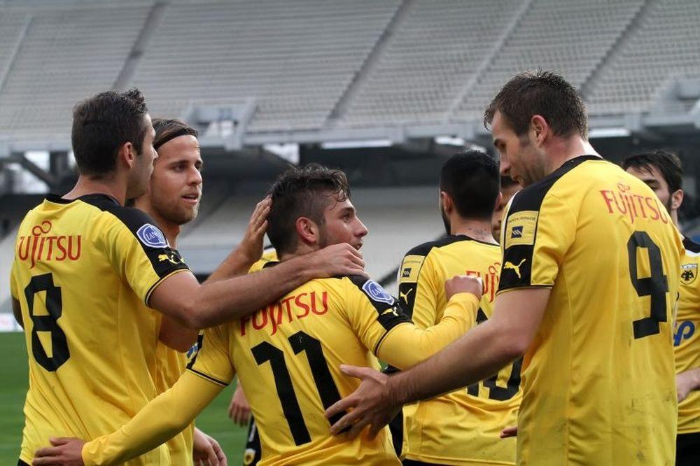 ΑΕΚ - ΠΑΟ Κρουσώνα 7-1: Τα γκολ του αγώνα (video)