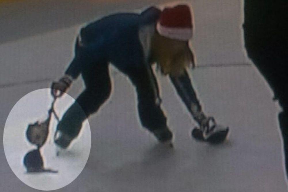 NHL: Πέταξε το σουτιέν της στην παγοπίστα (video)