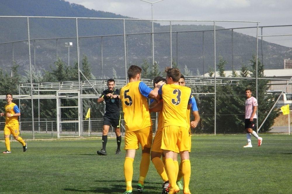 Ολυμπιακός-Αστέρας Τρίπολης 1-1 (Κ20)