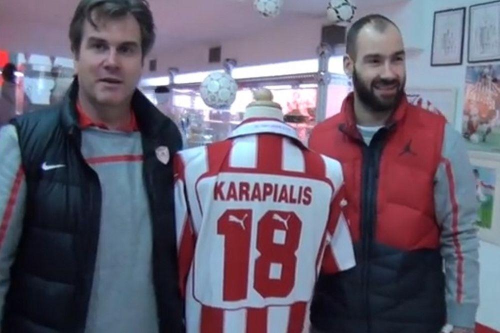 Ολυμπιακός: Ο Σπανούλης για τον Καραπιάλη! (video)