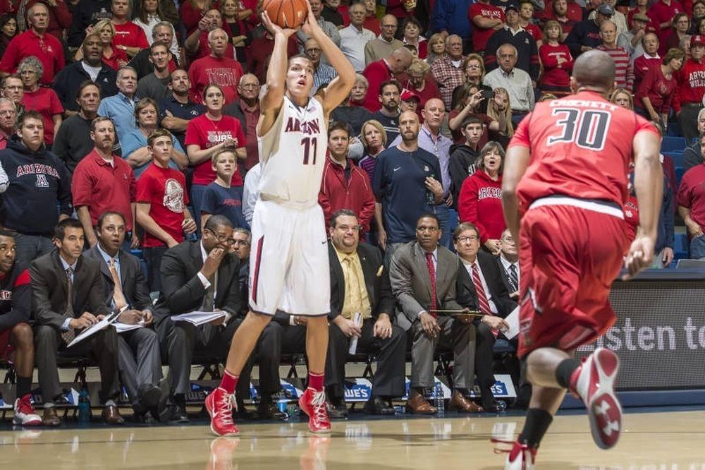 NCAA: Στην κορυφή το Αριζόνα