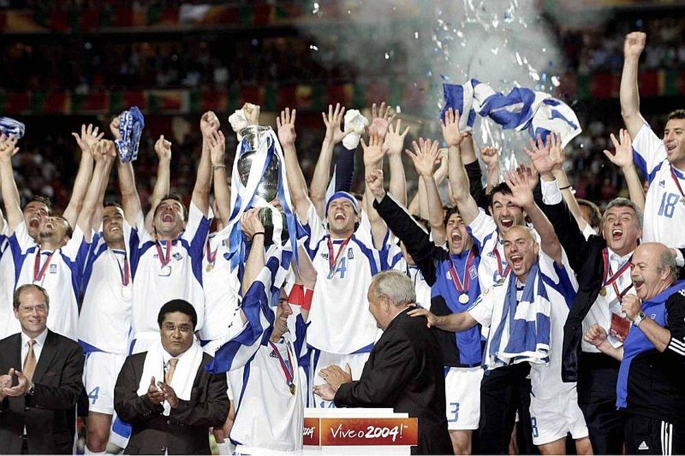 Η Εθνική Euro 2004 ξανά στο γήπεδο!