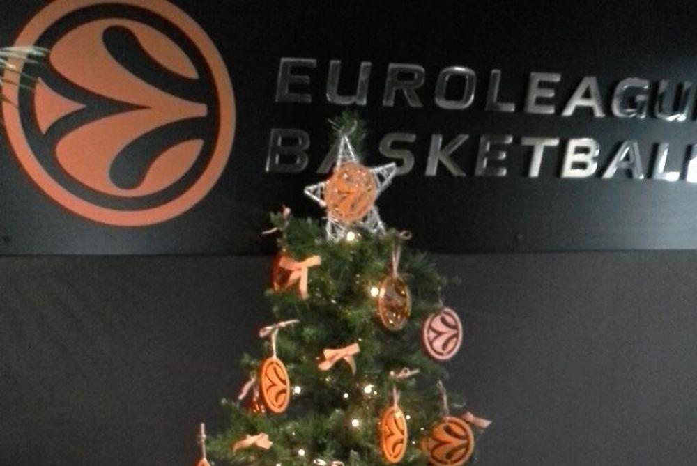 Ευρωλίγκα: I feel devotion for Christmas! (video)