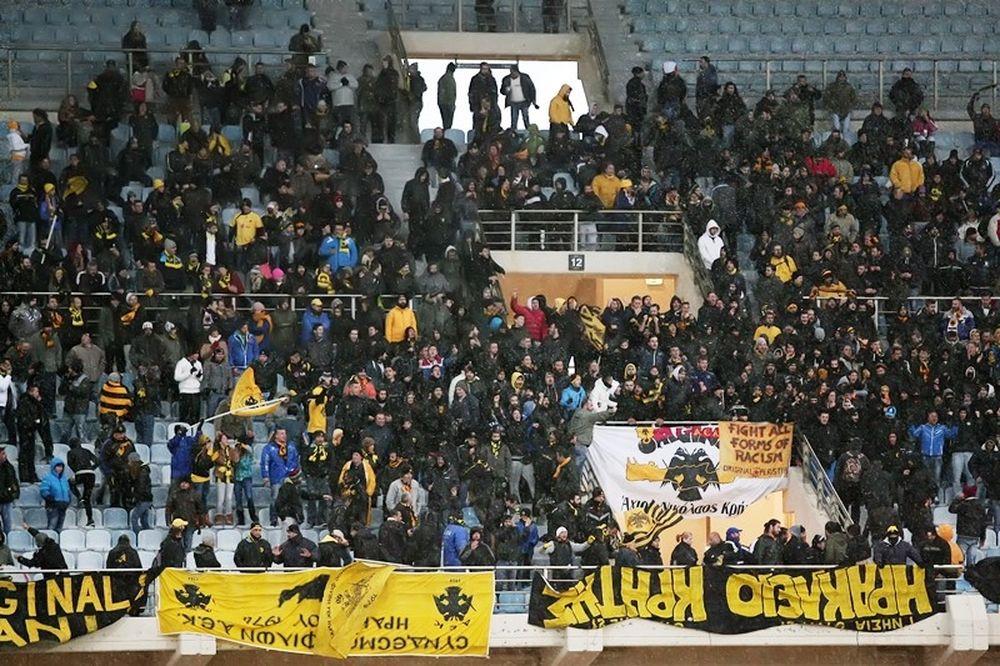 Ηρόδοτος – ΑΕΚ: Η «μάχη» της εξέδρας (photos)