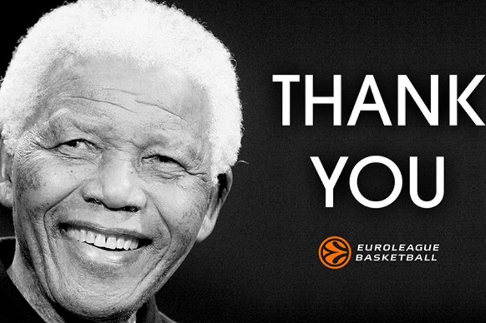 Euroleague: Ενός λεπτού σιγή στη μνήμη του Μαντέλα