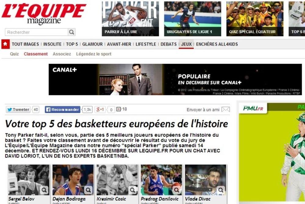 Νίκος Γκάλης: Αναγνώριση από Γαλλία