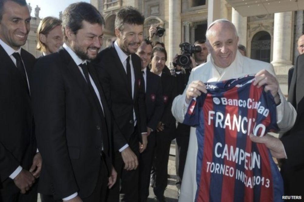 Συνάντησε τον Πάπα η Σαν Λορέντσο! (photos)