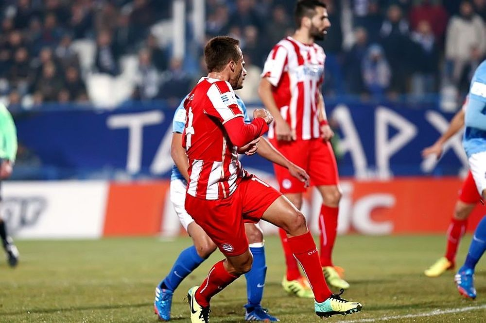 Απόλλων Σμ. - Ολυμπιακός 0-5: Τα γκολ του αγώνα (video)