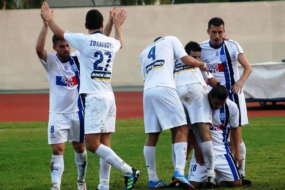 Δίλεπτο νίκης για τα Χανιά, 2-0 την Καλλιθέα