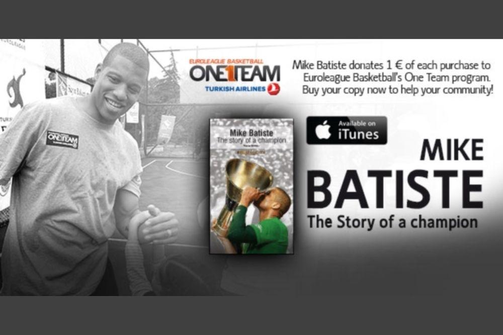 Παναθηναϊκός: Στηρίζει την «Κιβωτό» ο Μπατίστ