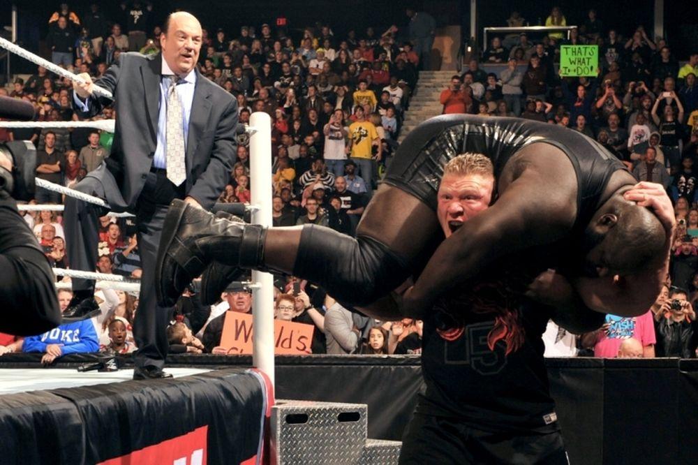 Raw SuperShow: Γύρισε πεινασμένος ο Lesnar (videos+photos)