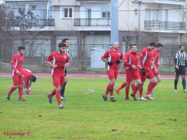 Όλυμπος Κέρκυρας-Κοζάνη 0-5