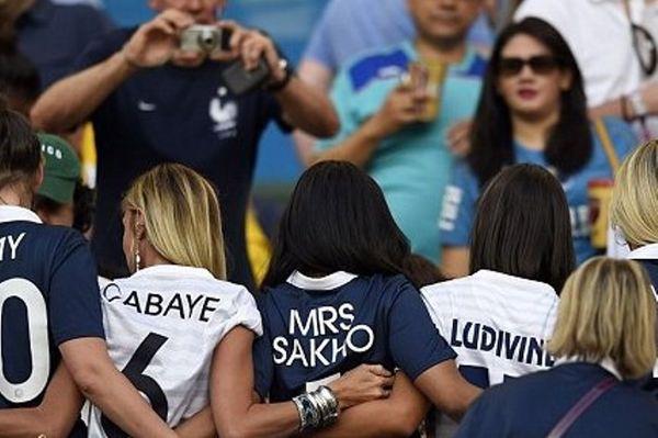 Παγκόσμιο Κύπελλο Ποδοσφαίρου 2014: Νίκησαν οι... γυναίκες των Γάλλων (photos)