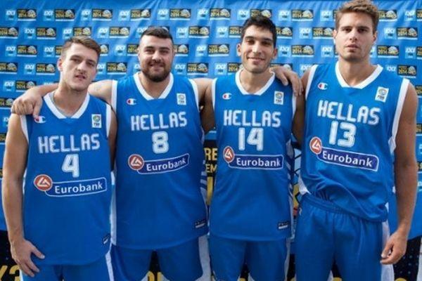 Εθνική Ελλάδας 3on3: Πικρία για το χαμένο μετάλλιο