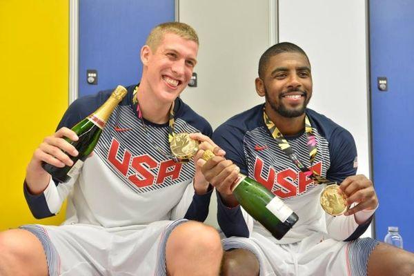 Μουντομπάσκετ 2014: Σαμπάνιες στα αποδυτήρια των ΗΠΑ (photos)