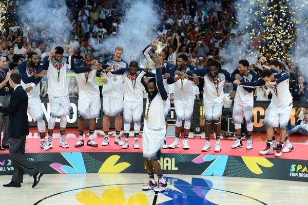 Μουντομπάσκετ 2014: Τα... όργια των ΗΠΑ στον τελικό σε αργή κίνηση (video)