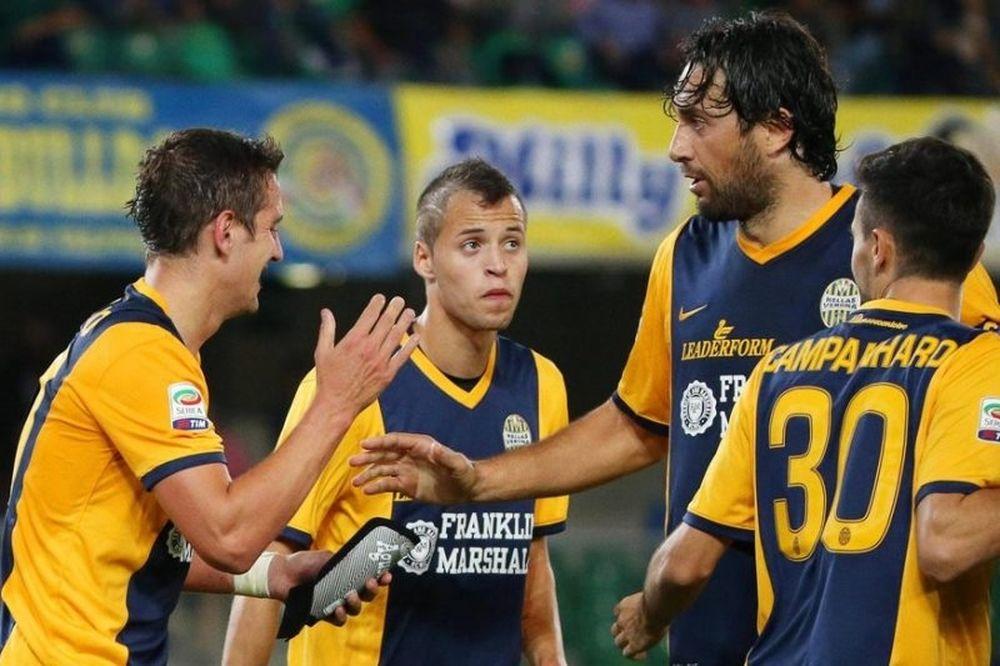 Ανατροπή για Βερόνα, 2-1 την Παλέρμο!