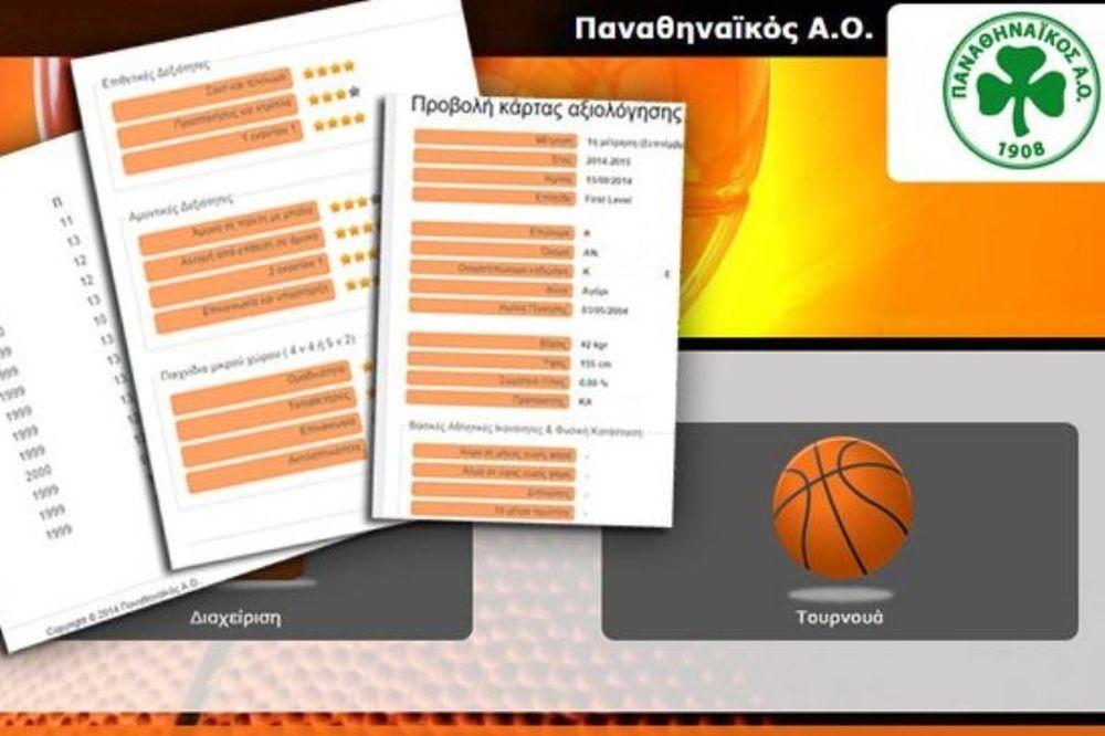 Παναθηναϊκός: Η καινοτομία της ακαδημίας μπάσκετ!