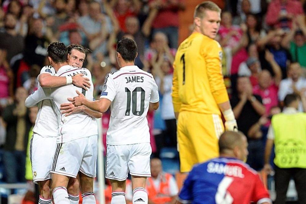 Ρεάλ Μαδρίτης – Βασιλεία 5-1 (video)