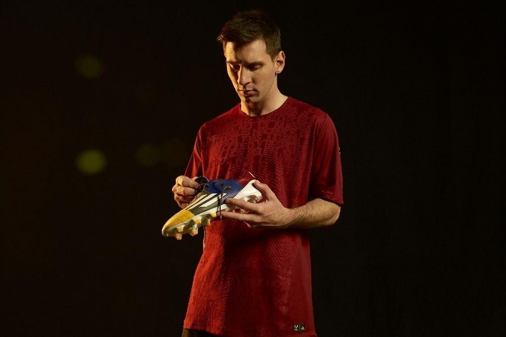 H adidas παρουσιάζει το νέο adizero f50 Messi (photos)