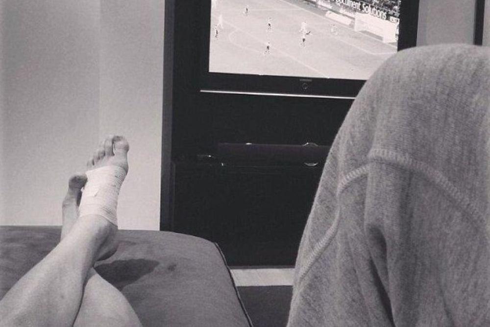 Ο Σούρλε,  το ποδομασάζ  και η αγωνία για τραυματισμό (photos)