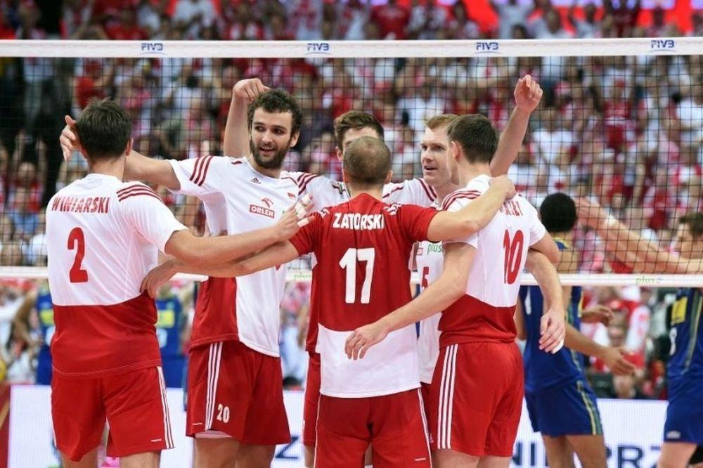 Παγκόσμιο Πρωτάθλημα Βόλεϊ: Η Πολωνία… γκρέμισε την Βραζιλία! (photos)