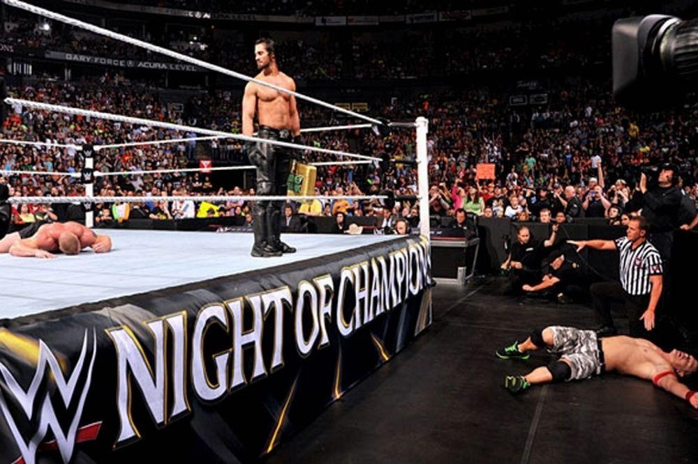Night of Champions: Με το ζόρι… Lesnar (photos+videos)