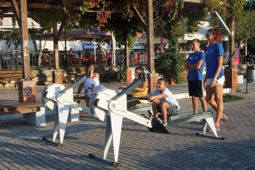 Κωπηλασία: Τράβηξε… κουπί η Χαλκίδα