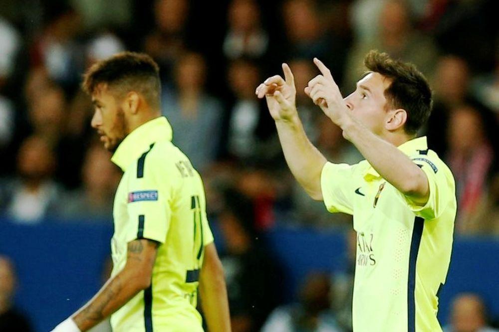 Champions League: Ισοφάρισε Ρονάλντο ο Μέσι (video)
