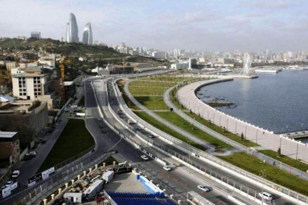 Formula 1: Παρουσιάστηκε η πίστα του Αζερμπαϊτζάν (photo)