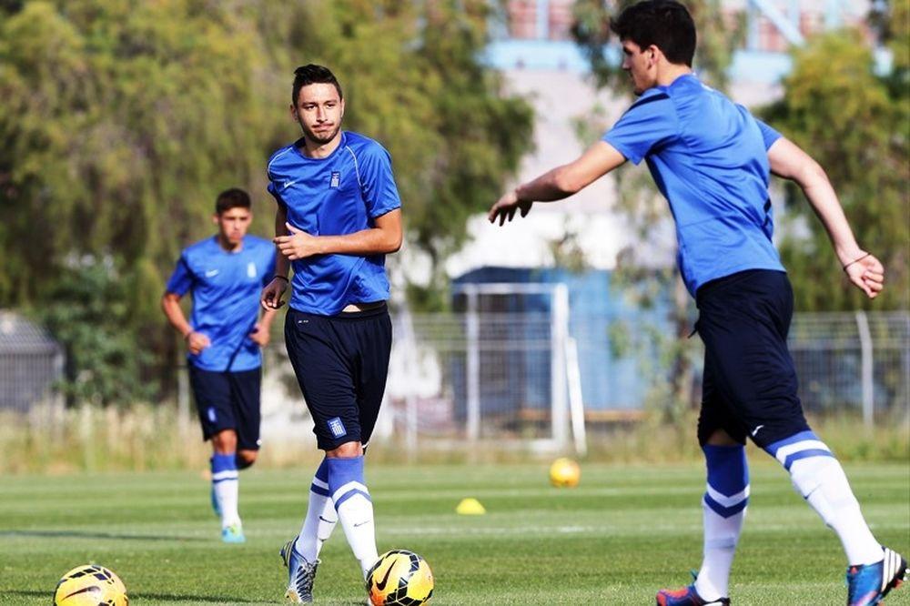 Εθνική Νέων: Ισόπαλη 2-2 με Ελβετία