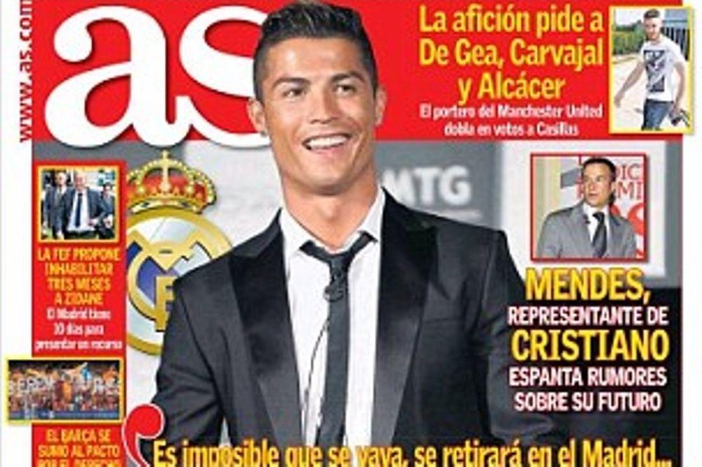 Ρεάλ Μαδρίτης: Ένα δισεκατομμύριο ευρώ η ρήτρα του Ρονάλντο (photo)